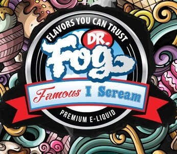 Dr. Fog's Famous I Scream Series' logo