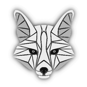 White Fox' logo