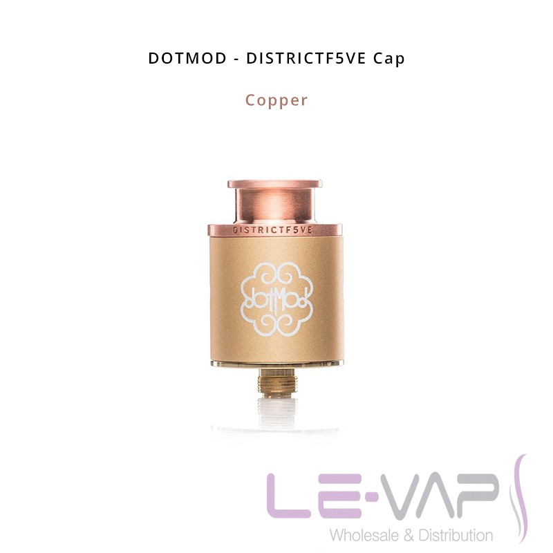 DISTRICTF5VE Cap-Copper