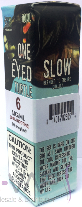One Eyed Turtle e-liquid by Micro Brew Vapor 10ml