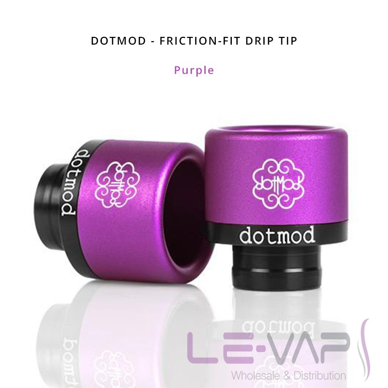 DOTMOD - Friction-Fit Drip Tip-Purple