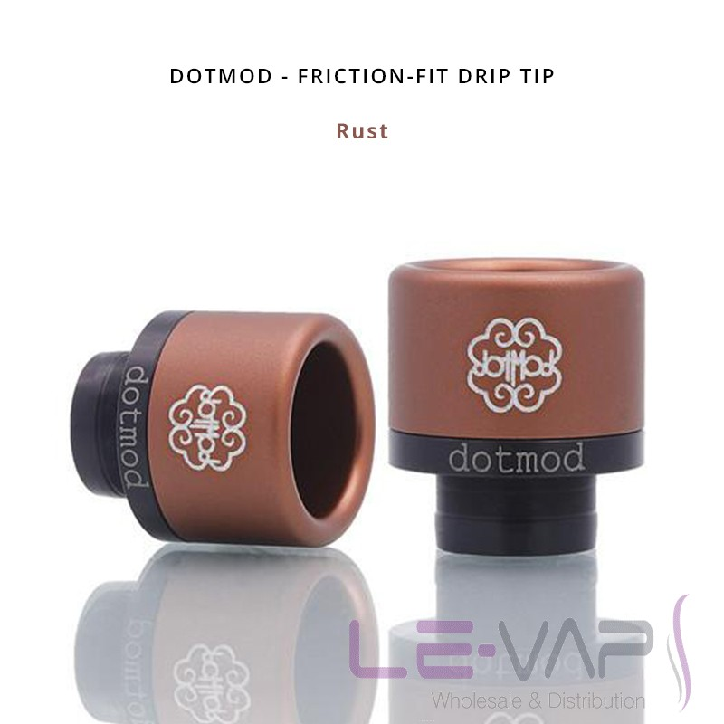 DOTMOD - Friction-Fit Drip Tip-Rust