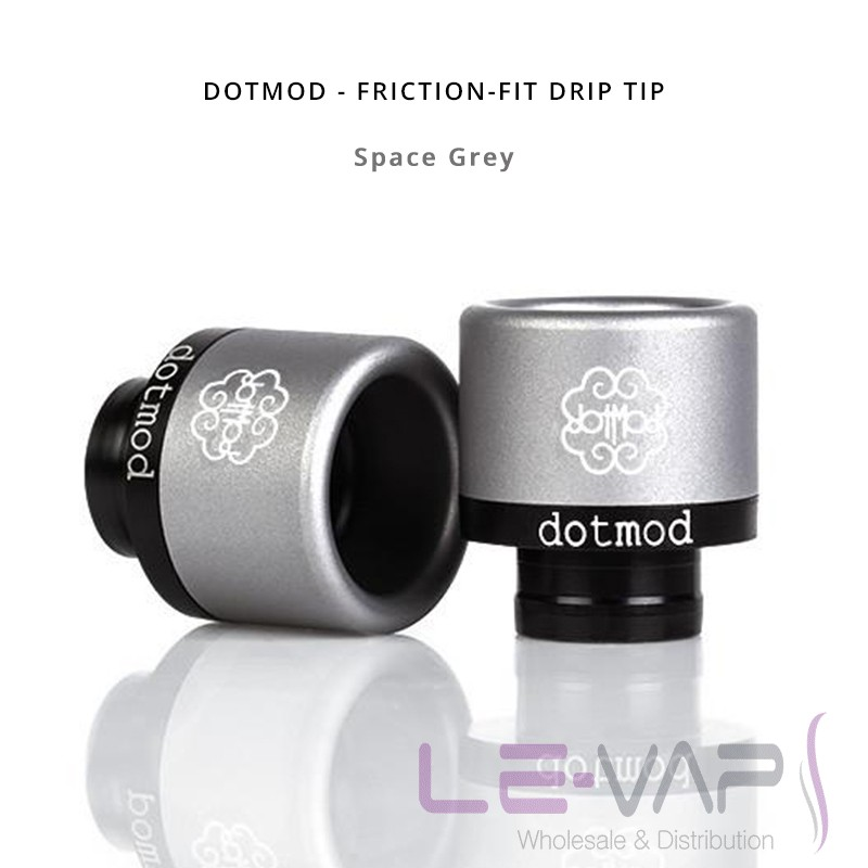 DOTMOD - Friction-Fit Drip Tip-Space Grey