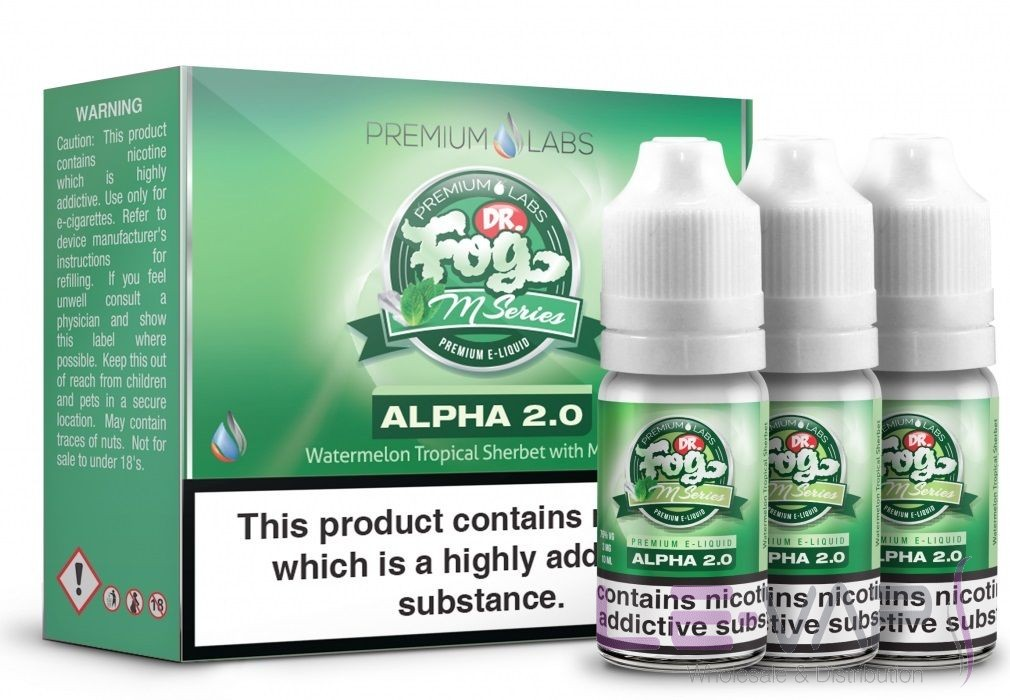 Dr. Fog's M-Series Alpha 2.0 E-liquid 3x10ml
