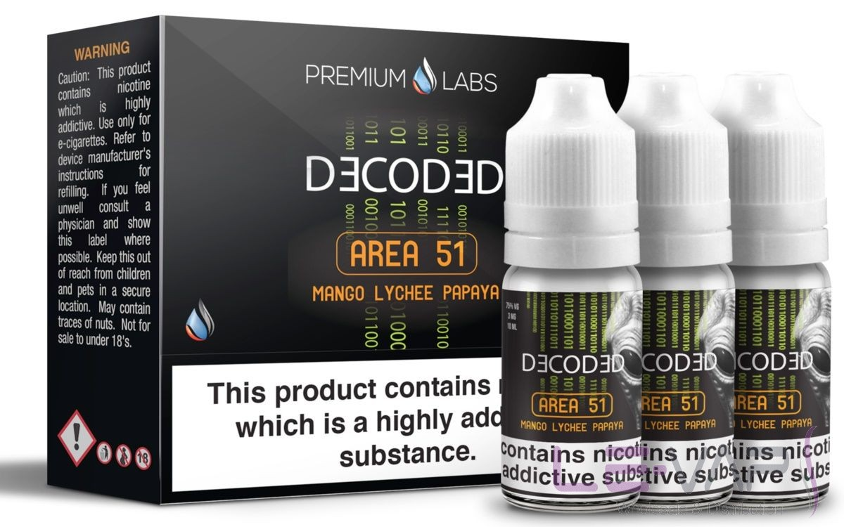Decoded Area 51 3x10ml