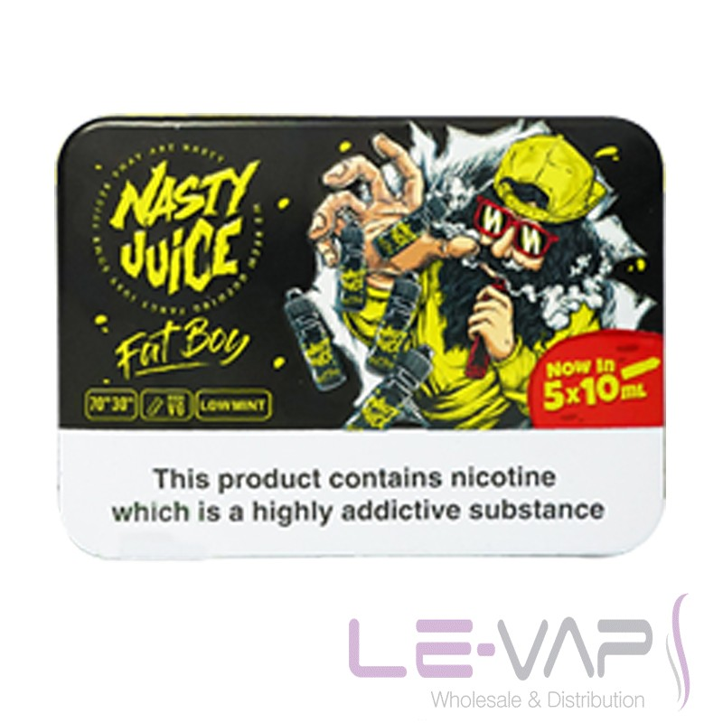 Fat Boy e-liquid by Nasty Juice 5x10ml