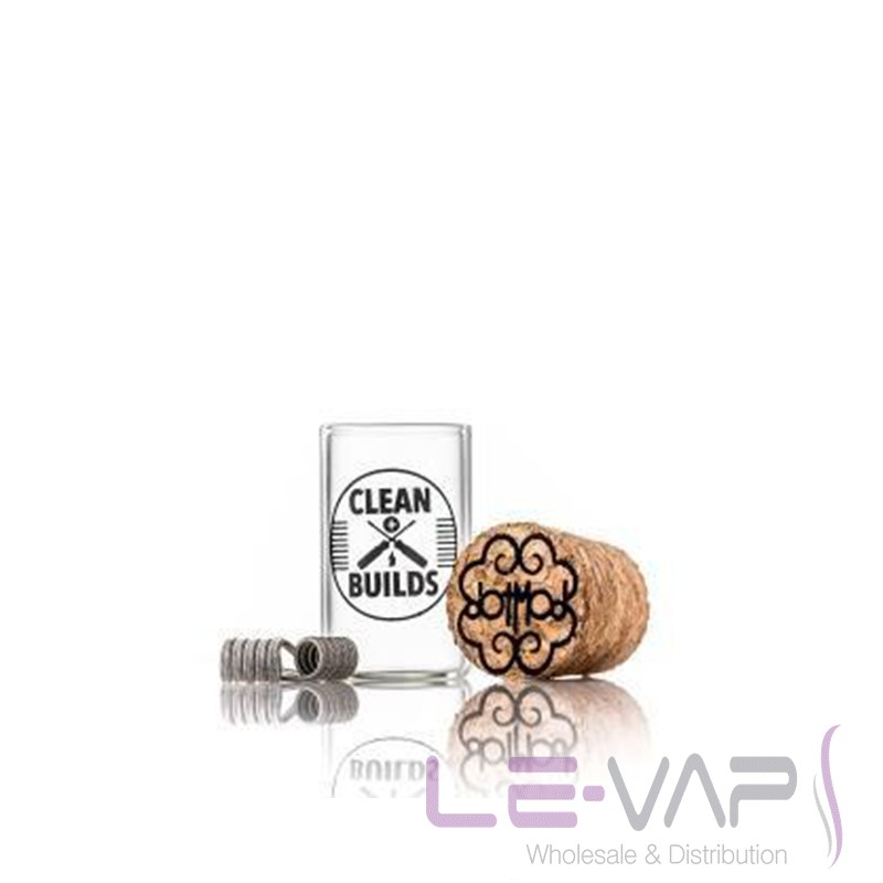 dotCoils (triple core Clapton) - 5 wrap (2.5mm) by dotmod