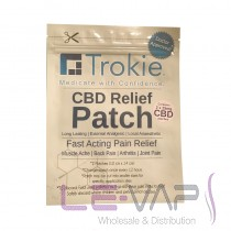 Trokie Hemp CBD Patch (2patches per pack)