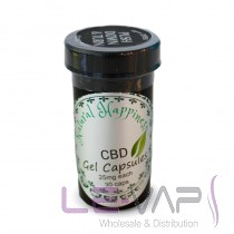 CBD Soft Gel Capsules  30mg