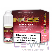 CHERRY FIZZ E LIQUID BY VAPE INFUSE