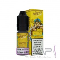 CUSHMAN BANANA NASTY SALT BY NASTY JUICE