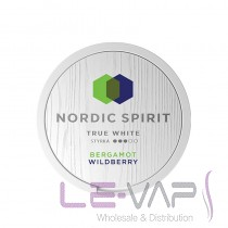 Nordic Spirit True White Bergamot Wildberry Nicotine Pouches
